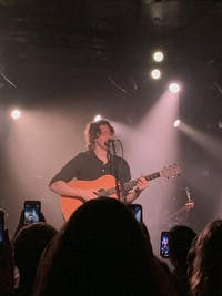 COURTESY OF CINDY CHOI Australian singer Dean Lewis performed at Union Stage on March 9.
