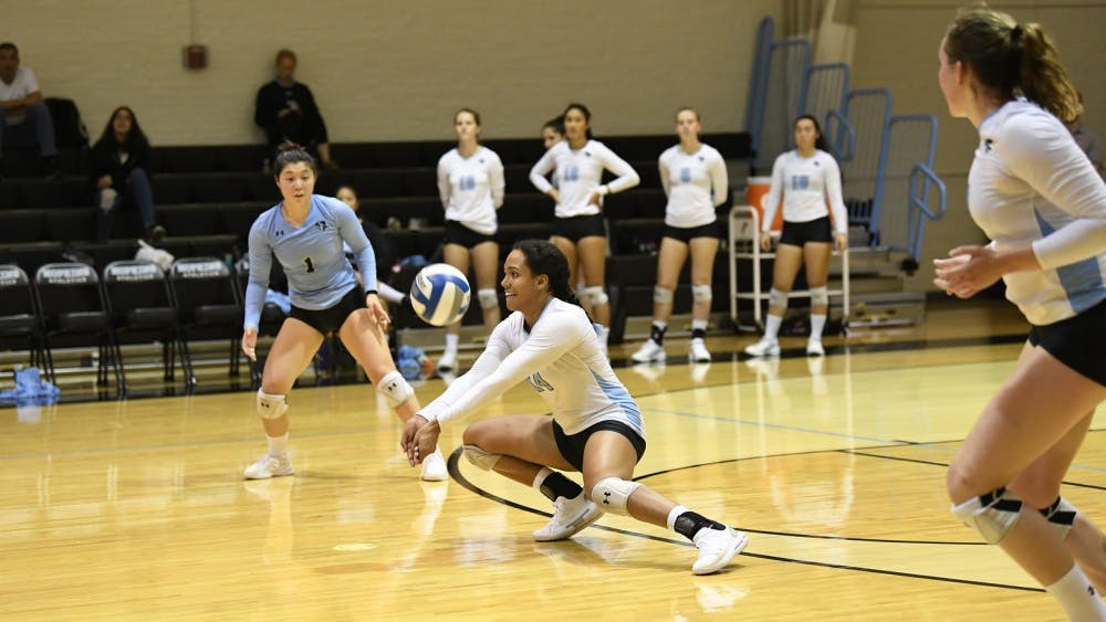 HOPKINSSPORTS.COM Simone Bliss was named to the Third Team All-American.