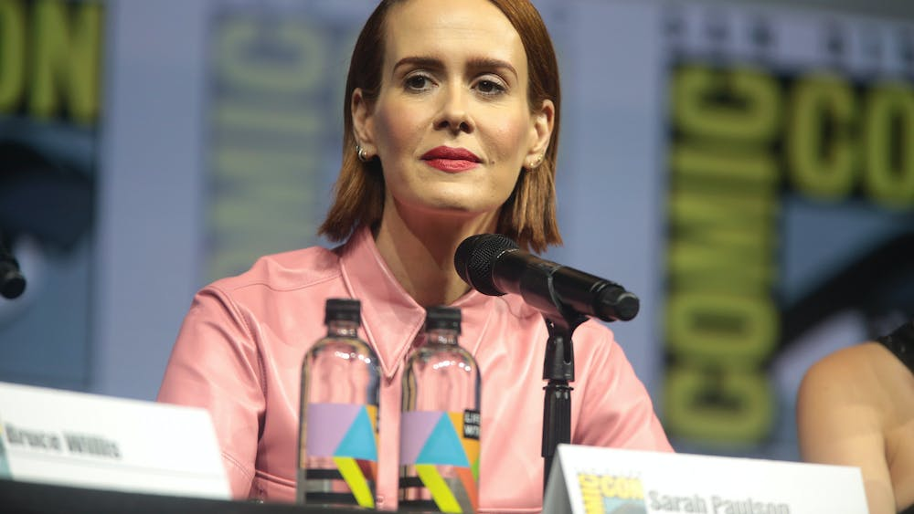 GAGE SKIDMORE / CC BY-SA 3.0 Sarah Paulson stars in Hulu's movie Run as an abusive mother with FDIA.