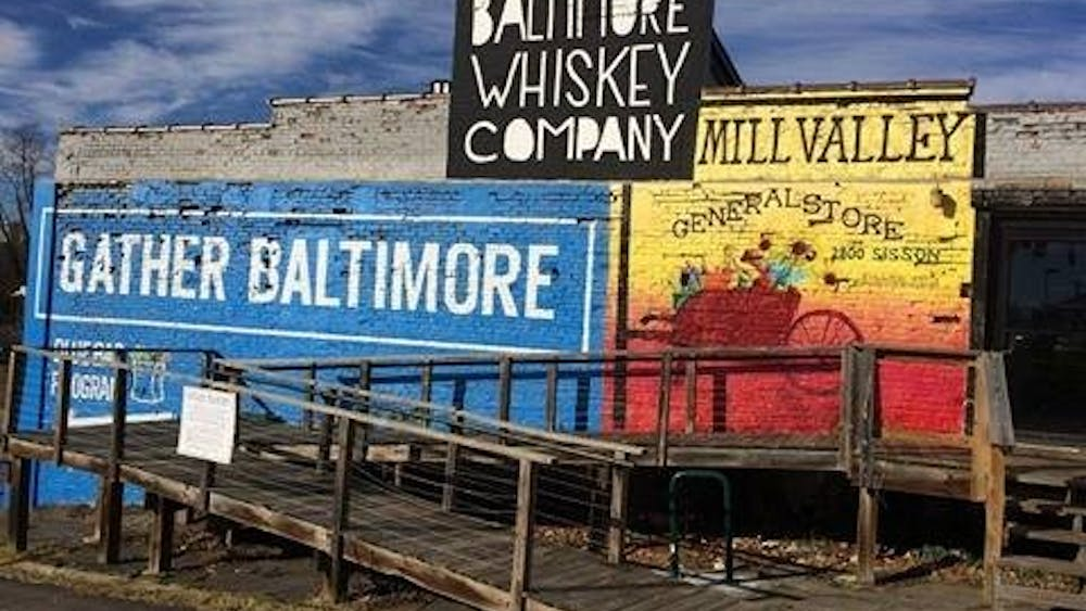 COURTESY OF HANNAH MELTON Mill Valley and Gather Baltimore are about a mile away from campus.
