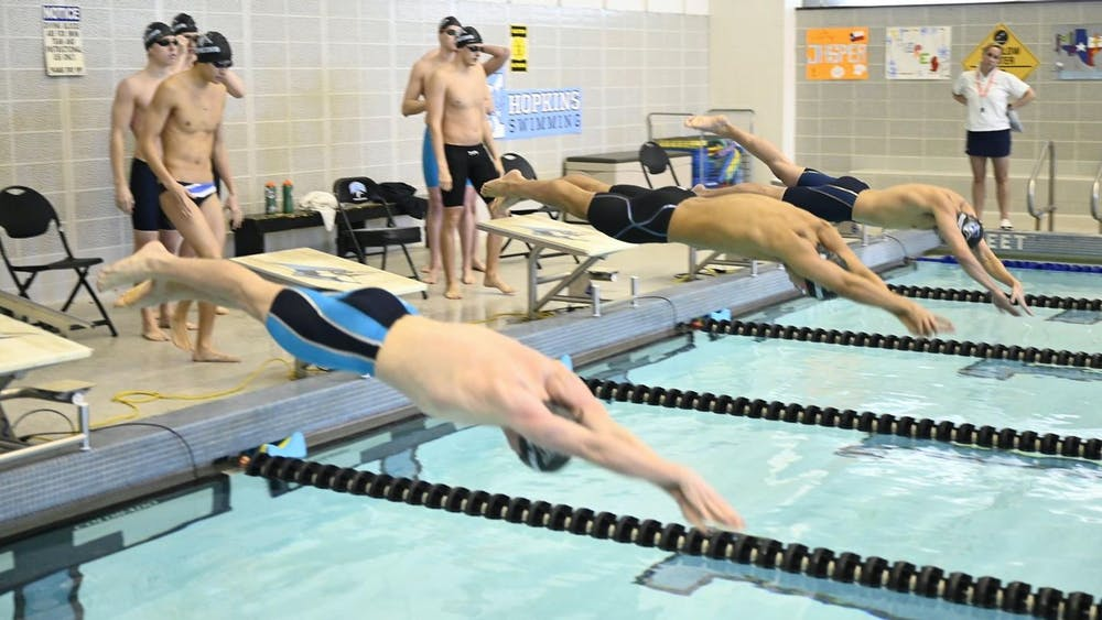 Courtesy of HOPKINSSPORTS.COM Swimming programs across the country have been victims of budget cuts, as athletic departments view them and other non-revenue sports as expendable.