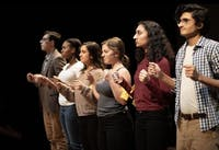 COURTESY OF NICK XITCO  The Barnstormers' fall production of The Laramie Project ran from Friday through Sunday.