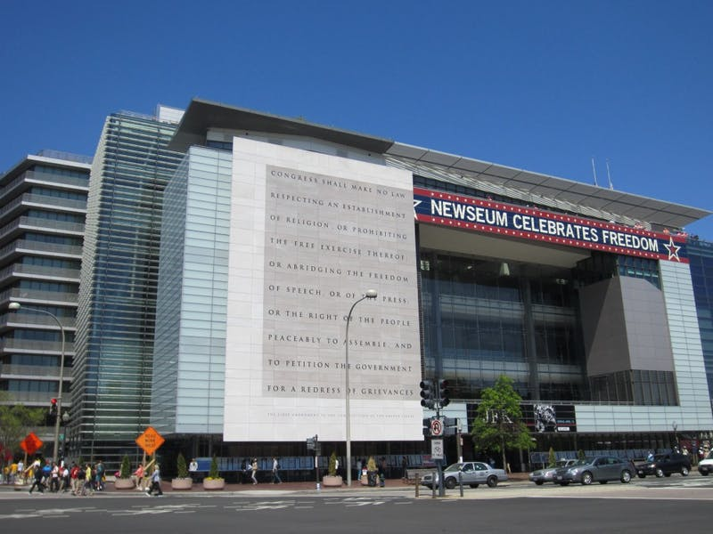 Another Believer / CC-BY-SA-3.0 The Newseum will remain open through 2019, after which it will relocate.