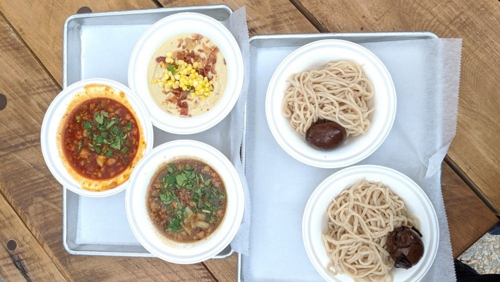 Courtesy of Aubin Lohier. Dipping noodles and unique broths make Ojichan worth visiting.