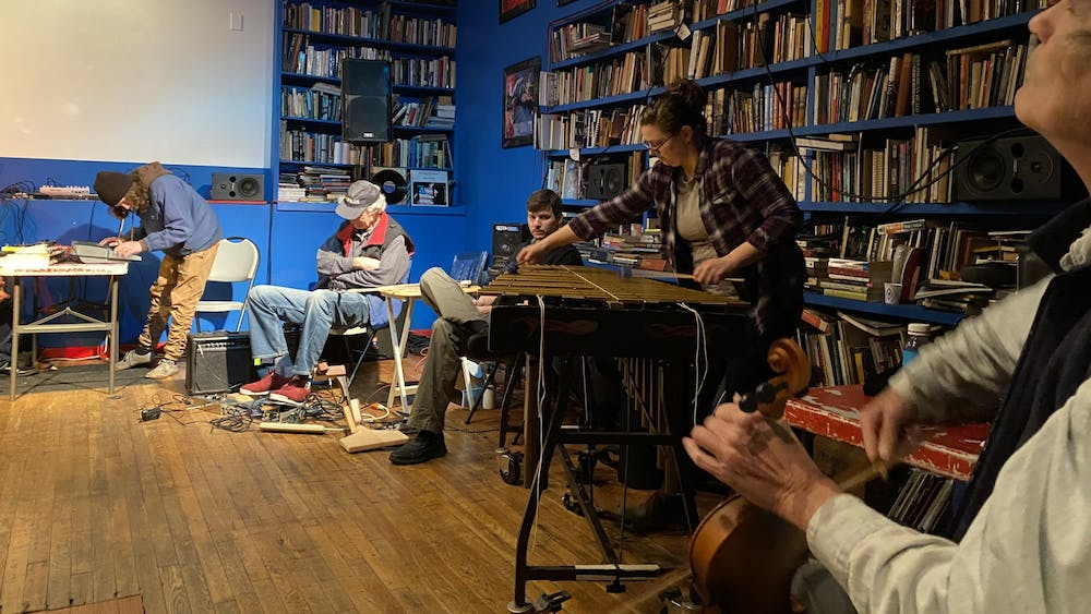 COURTESY OF JAE CHOI  The improvisation sessions featured many diverse instruments and players.