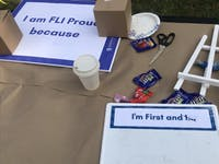 COURTESY OF EMILY MCDONALD The FLI Network launched last year to promote solidarity through events and discussions.