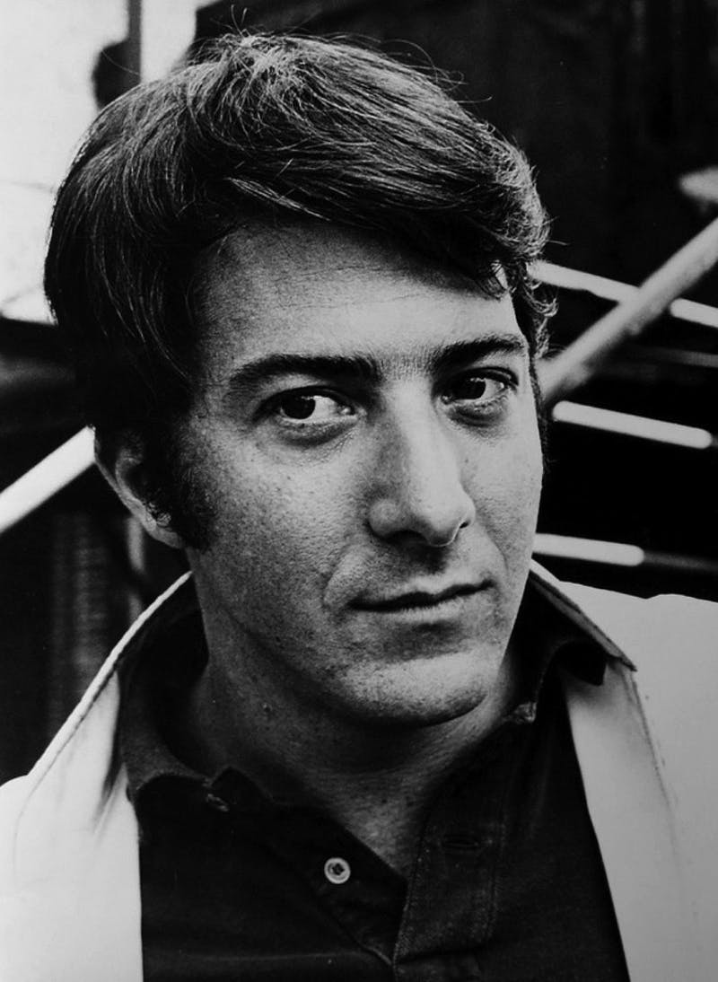 PUBLIC DOMAIN Dustin Hoffman starred as Ben Braddock in the 1967 film The Graduate.
