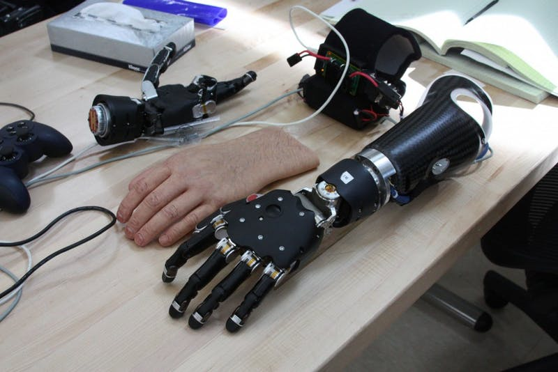 PUBLIC DOMAIN BrainGate researchers have previously developed prosthetic limbs that react to neural signals.