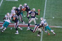 Paul Keleher/CC BY 2.0 Tom Brady and the Patriots will try to dominate the league this year.