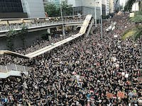 PUBLIC DOMAIN The 2019 Hong Kong protests have been ongoing since June 9.