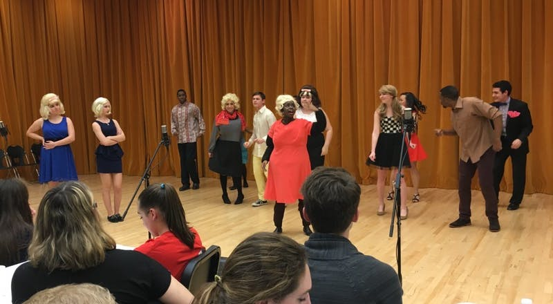 COURTESY OF KACEY BAE The Dunbar Baldwin Hughes Theatre Company held a performance of Baltimore classic Hairspray.