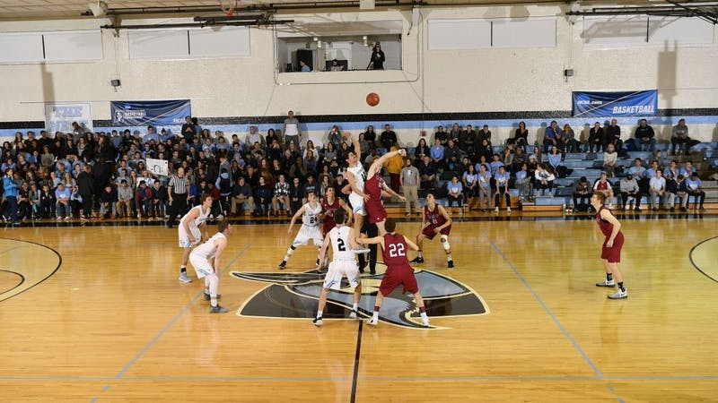 COURTESY OF HOPKINSSPORTS.COM The men's basketball team finishes their season with a loss in the second round of the NCAA Tournament.