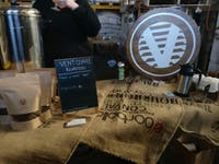 COURTESY OF JESSE WU Vent Coffee Roasters, a local small batch roastery, hosted the event.