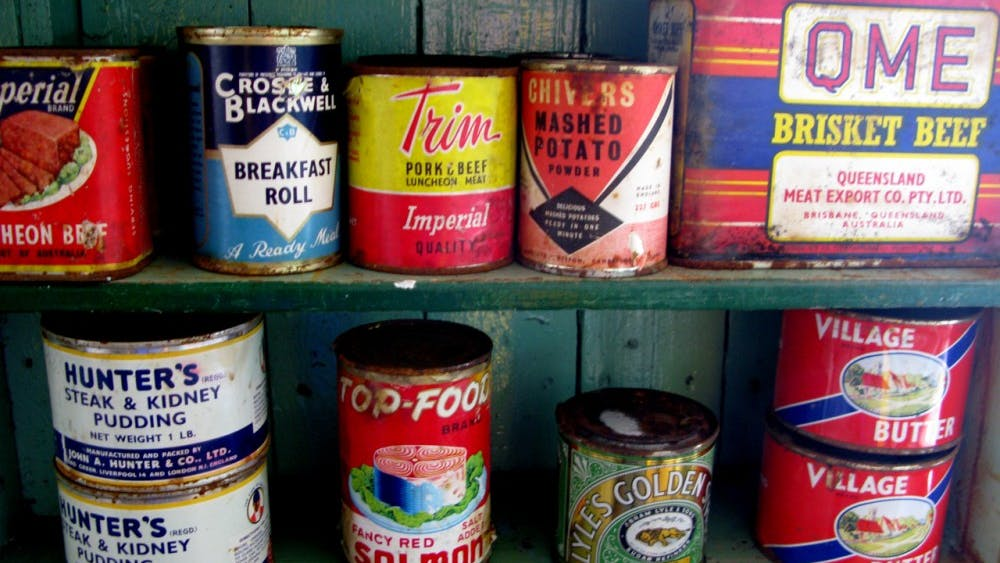 CC BY-SA 3.0/Serge Ouachée Food drives collect non-perishable food items and distribute them to those in need of more food resources.