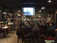 COURTESY OF TRISHA PARAYIL Red Emma's hosted a screening of At the River I Stand to honor Martin Luther King Jr.
