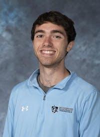 HOPKINSSPORTS.COM Junior runner Jared Pangallozzi.