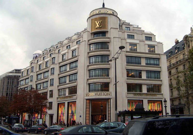 PUBLIC DOMAIN The French company Louis Vuitton is one of the oldest fashion in the industry.
