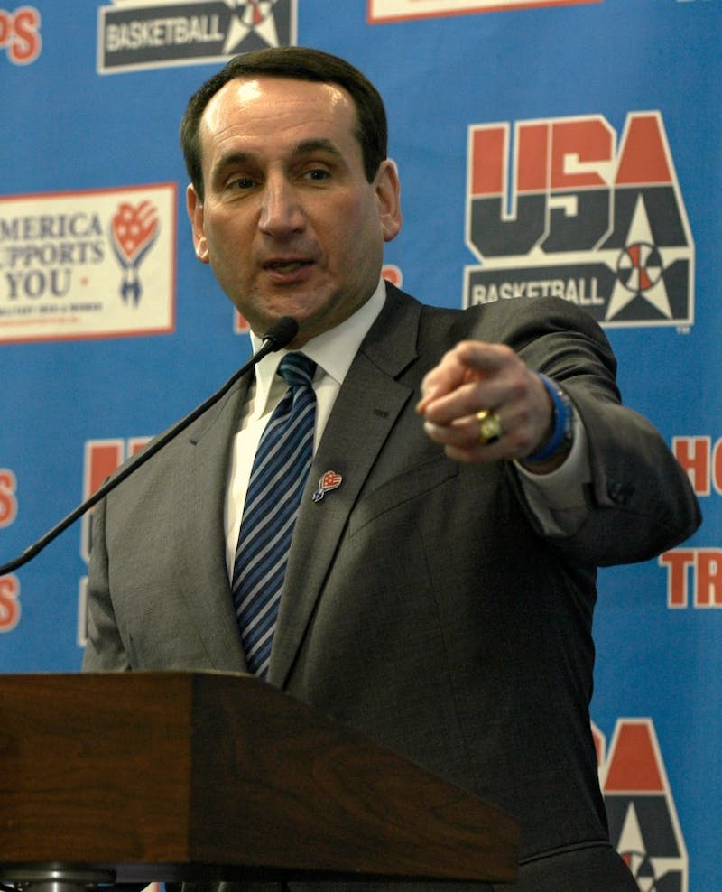 PUBLIC DOMAIN Coaches like Mike Krzyzewski get paid millions while athletes get nothing.