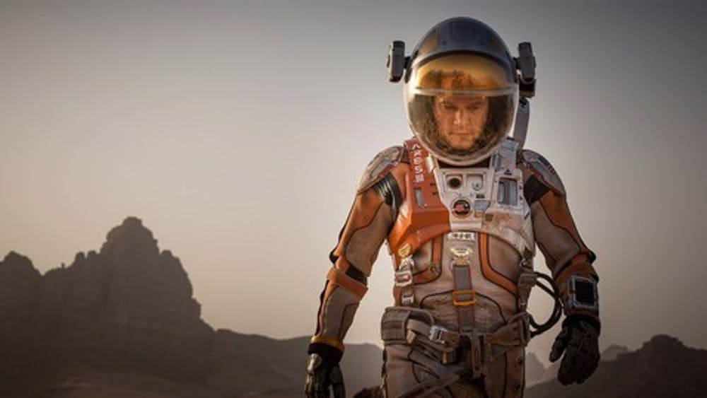 Courtesy of BOUNCYBUNNY3 via FANPOP Matt Damon gets abandoned in space again as NASA astronaut Mark Watney in The Martian.