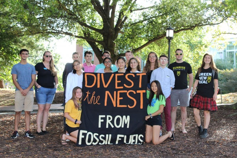 NEHA SANGANA/PHOTOGRAPHY EDITOR  Refuel Our Future hosted its inaugural DivestFest on the Beach this Friday to celebrate wins within the fossil fuel divestment movement.