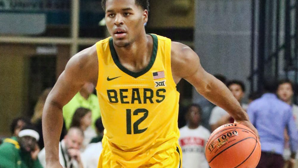 LOCKEDIN MAGAZINE/CC-BY-2.0 Jared Butler leads the top-seeded Baylor Bears in scoring.