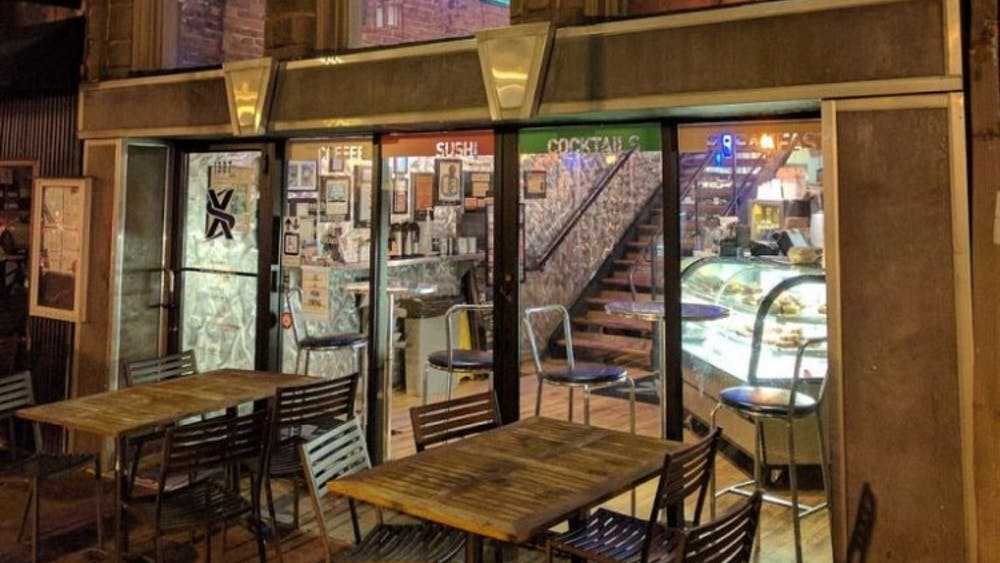 courtesy of seth stadick XS occupies four floors and offers a menu as large as its space.