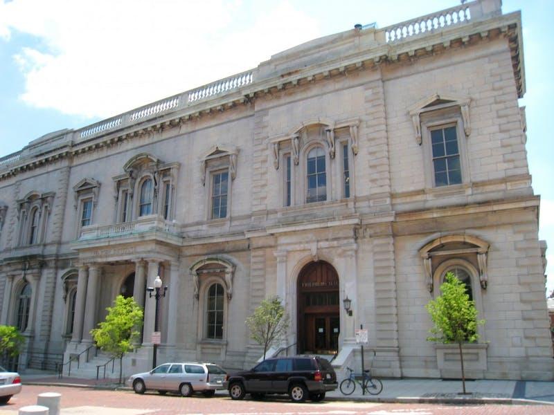 The Peabody Institute in Mount Vernon. DADEROT/PUBLIC DOMAIN