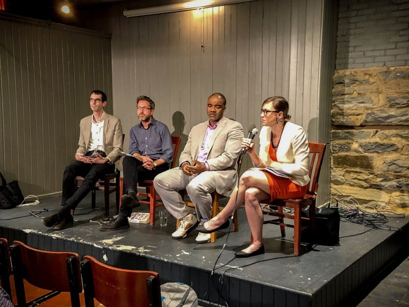 PHOTO COURTESY OF YASMIN YOON Red Emma's hosts dialogue exploring race and the prison system.