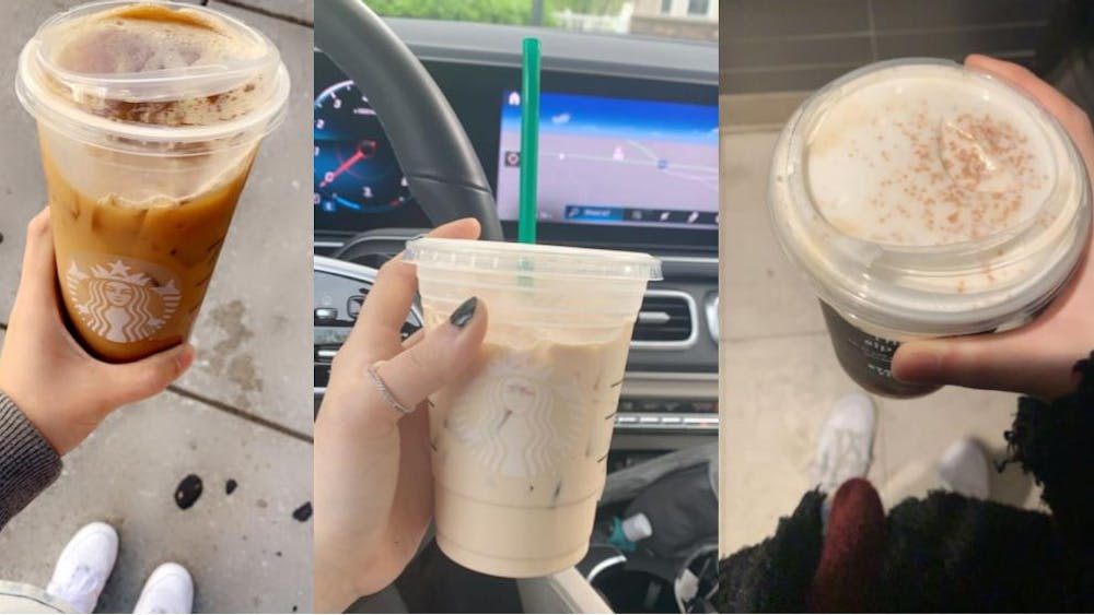 COURTESY OF EUNICE PARK Park, a coffee lover, was excited to try Starbucks' fall beverages.