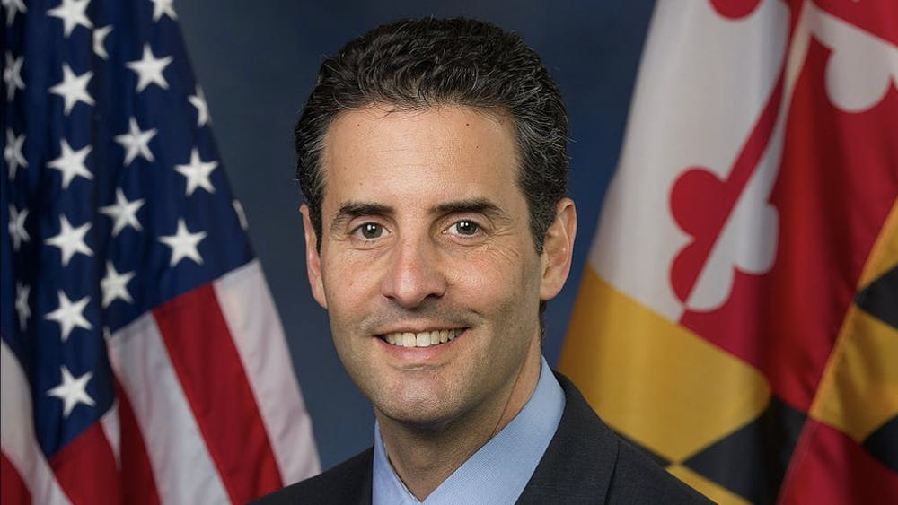 PUBLIC DOMAIN  U.S. Representative John Sarbanes spoke at a HopDems event about campaign finance reform in the context of the upcoming election.