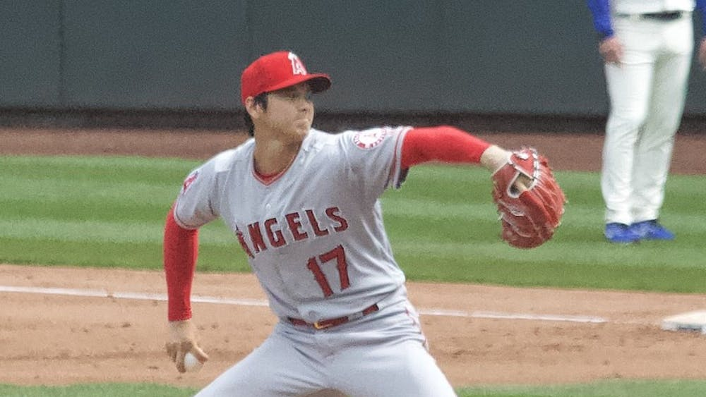 Merson / CC BY-SA 2.0 Los Angeles Angels pitcher and designated hitter Shohei Ohtani is having the greatest baseball season ever.
