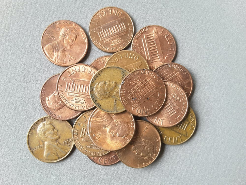 a-pile-of-pennies