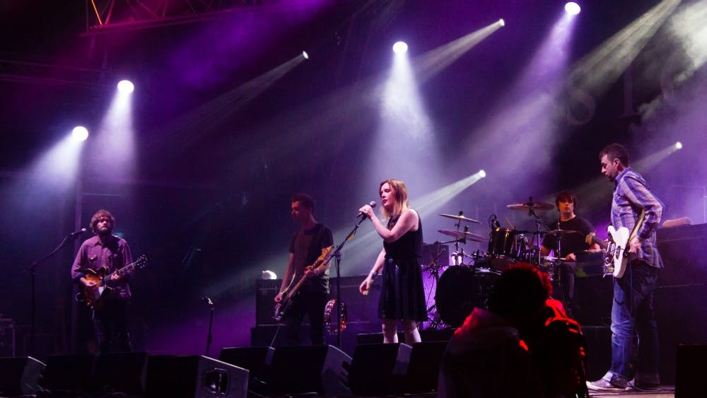 BENE RIBOO/CC BY-SA 3.0 The shoegazing band Slowdive reunited in 2014 after nearly 20 years.