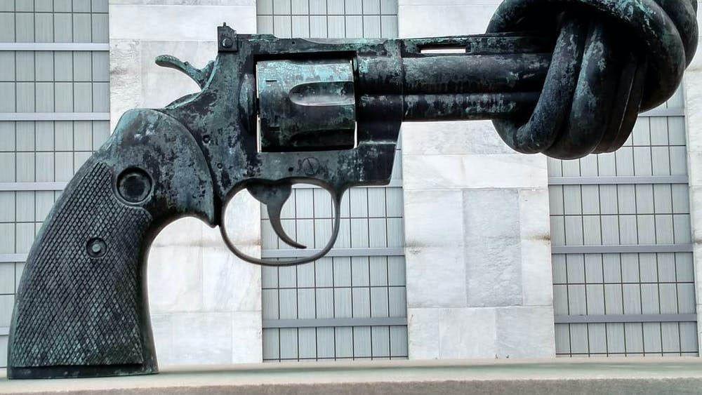 RANDALL GOYA / CC BY-SA 2.0 Felix examines the United States' approach to gun violence as the Supreme Court decides to review individuals' rights to bear arms.