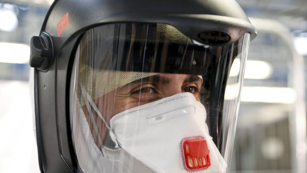 SIMON DAVIS/DFID / CC BY 2.0 Conflicting information from medical experts and decreased supply of masks have led to a shortage of personal protective equipment in the U.S.