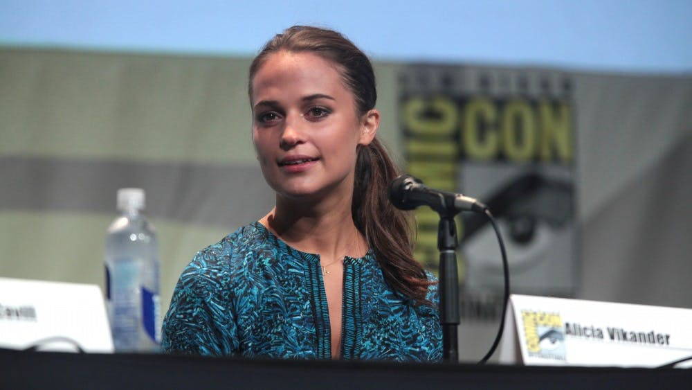 GAGE SKIDMORE//CC-BY-SA-2.0 Alicia Vikander is seeking an Academy Award in this year's ceremony.