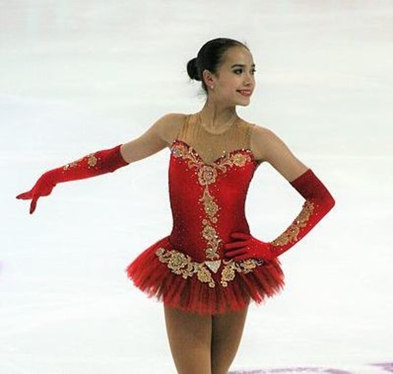 Luu/CC By SA-4.0  Alina Zagitova has become a legitimate talent in the last few years.