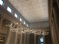 COURTESY OF AMELIA ISAACS Spencer Finch's installation Moon Dust will remain at the BMA until 2024.