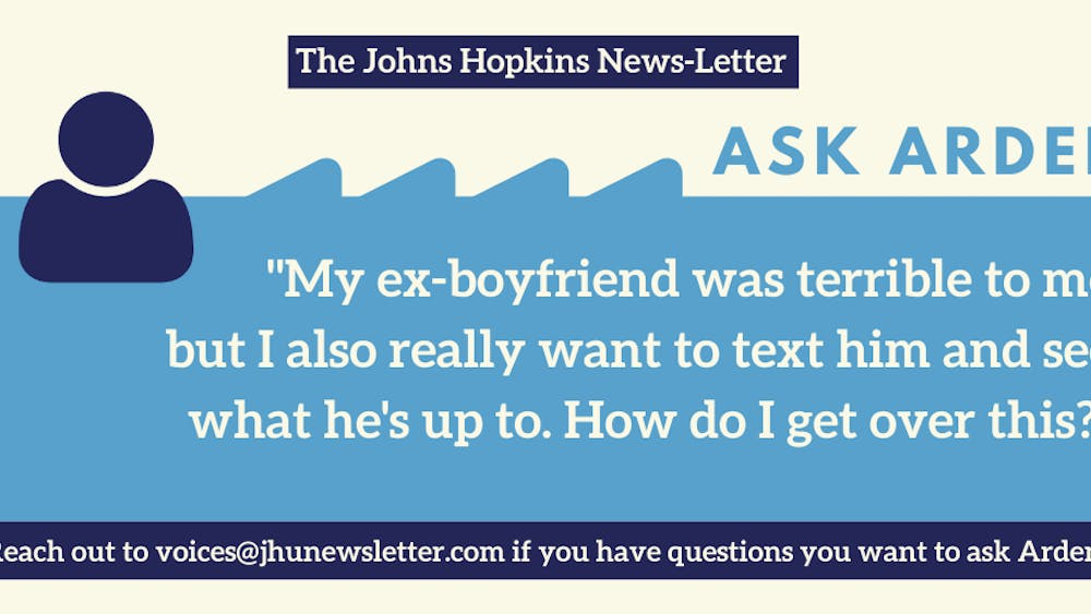 """This week's """"Ask Arden"""" column answers how to get over a breakup."""
