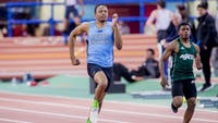 HOPKINSSPORTS.COM Justin Canedy won Centennial Conference Field Athlete of the Week