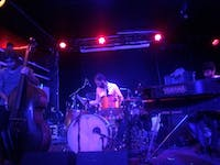 COURTESY OF DAVID SHI Dawn of Midi, an acoustic trio from Brooklyn, opened for Son Lux on Sunday night at The Ottobar.