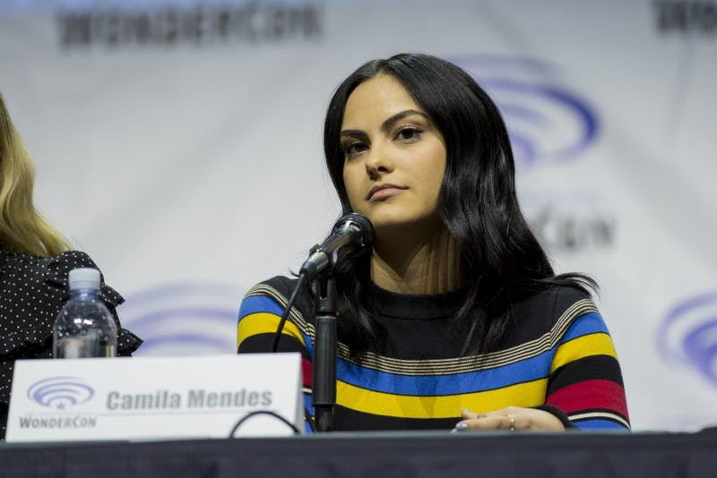 Dominick D/cc by-sa 2.0 Camila Mendes plays rich girl Shelby in Netflix's new high school rom-com, The Perfect Date.