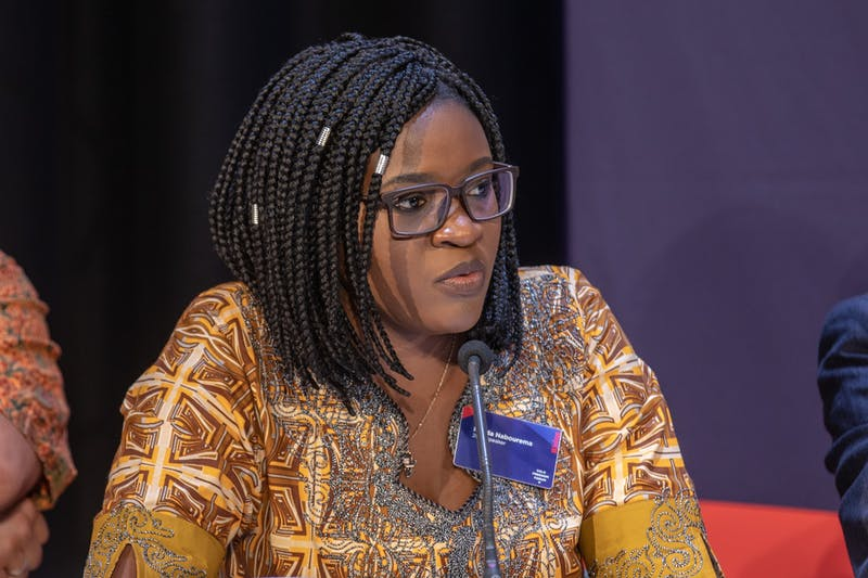 Tore Sætre/CC by SA-4.0 Nabourema recounted her efforts fighting for democracy in the West African nation of Togo.