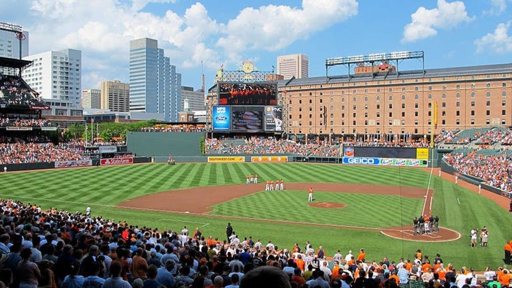 WIKIMEDIA COMMONS / CC BY-SA 2.0 Make sure to catch an Orioles game at Camden Yards before this year's season ends.