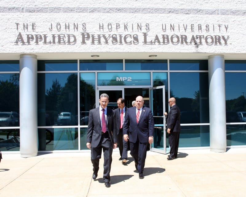 MARYLAND GOVPICS/CC BY 2.0 The Hopkins Applied Physics Lab is located far from the Homewood Campus, in Laurel, Md.
