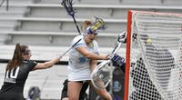 COURTESY OF HOPKINSSPORTS.COM  Sophomore Mackenzie Heldberg scores three crucial goals to help protect the Blue Jay lead.