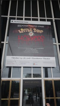 Courtesy of Cole Douglass Little Shop of Horrors was a hit at Washington D.C.'s Kennedy Center.