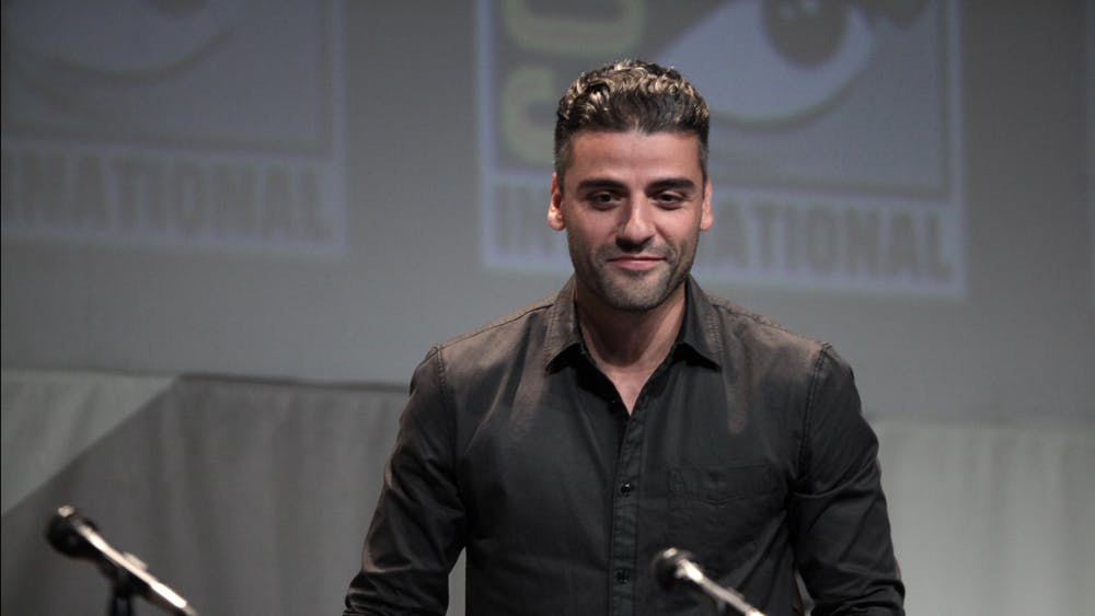 GAGE SKIDMORE/CC BY-SA 2.0 Oscar Isaac stars as a poker player in crisis in Paul Schrader's acclaimed film The Card Counter.