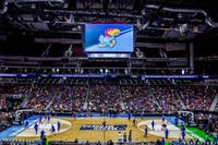 PHIL ROEDER/CC BY 2.0 NCAA basketball is back and Kansas University starts the year ranked No. 1.