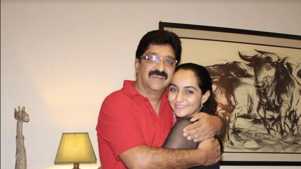 COURTESY OF SANIYA RAMCHANDANI Ramchandani discusses her father's support for her.